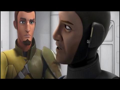 Star Wars Rebels   Kanan & Fenn Rau Hablan Sobre La Guerra De Los Clones   Español Latino HD