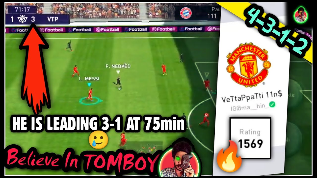1550+ RATED OPPONENT LEADING 3-1 AT 75min | BELIEVE IN COMEBACK | mr.tomboy