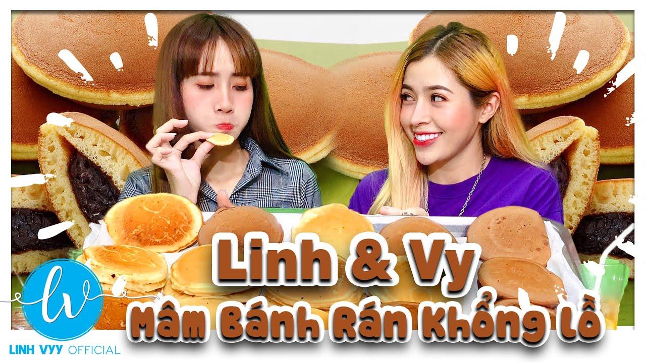Làm Mâm Bánh Rán Doraemon Khổng Lồ I Linh Vyy Official | doremon toi la nobiko