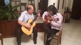 """Guitarra Peruana: """"POPURR� AYACUCHANO"""", dedicado al Dr. R.G..."""