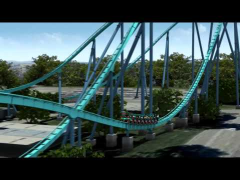 Canada's Wonderland 2012 - Leviathan Off Ride View