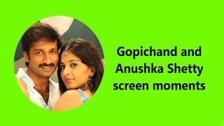 Gopichand-Anushka Shetty hot Lip Lock