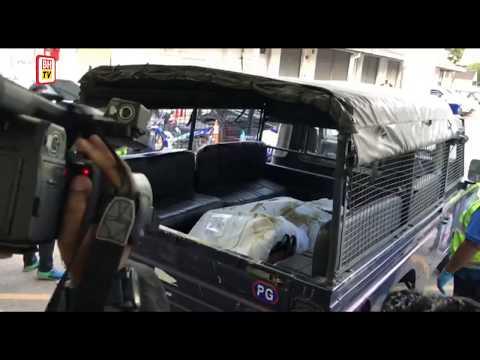 [LIVE] Mayat pemandu SUV Mazda CX-5, Moey Yun Peng, dibawa ke Hospital Seberang Jaya