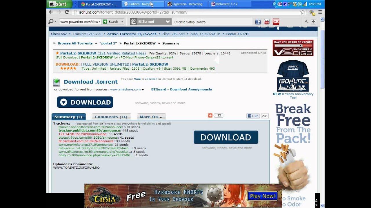 download portal 2 free mac full version