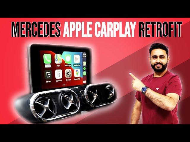 RETROFIT Mercedes Apple CarPlay Into The FACTORY Screen!   Mercedes X Class