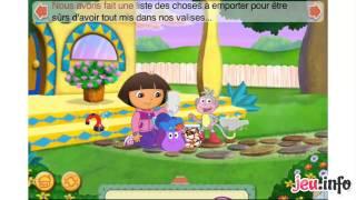 Jeu Les vacances de Dora et Diego iPhone