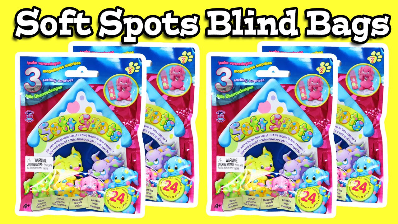 Soft Spots Puppy Blind Bags - YouTube