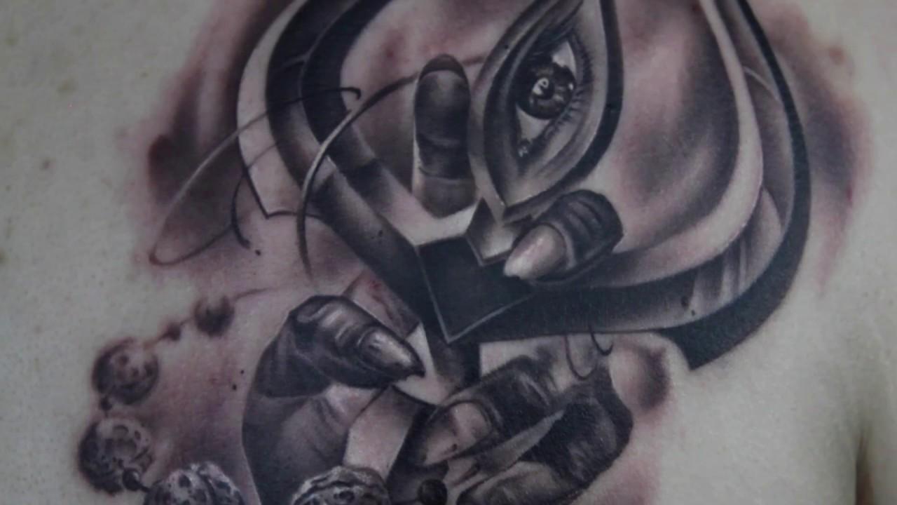 Lord shiva trishul picture - Realistic Lord Shiva Trishul Tattoo By Best Tattoo Artist Eric Jason D Souza Iron Buzz Tattoos