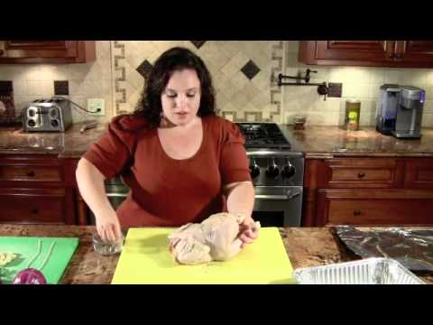 How to Cook Roasted Chicken (Organic)