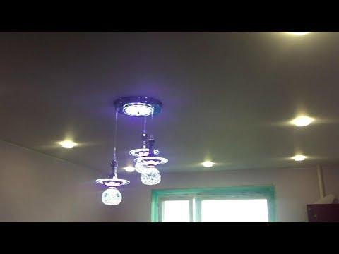 Видео Натяжной потолок после ремонта