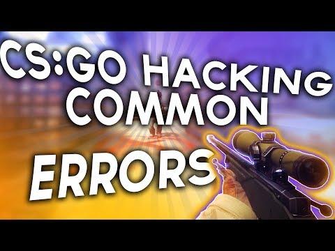 Cs:Go Hacking Common Errors //How To Fix Your Cs:Go Pastes Errors! Working 2017