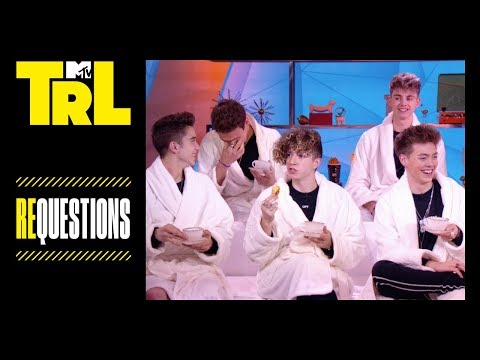 Why Don't We Does a TRL Edition of Tea Time | Requestions | TRL