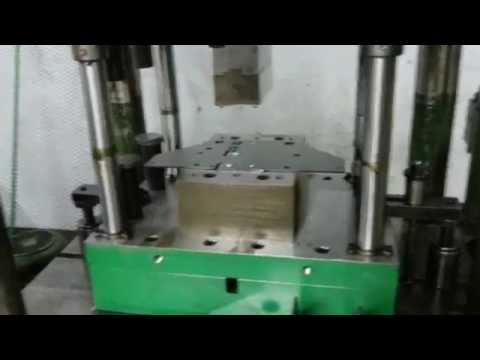 U-Bending Die with Hydraulic Press -U-Bükme Kalıbı