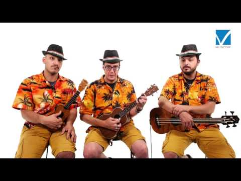 The lion sleeps tonight (Wimoweh) ukulele lesson - con gli Ukus in Fabula