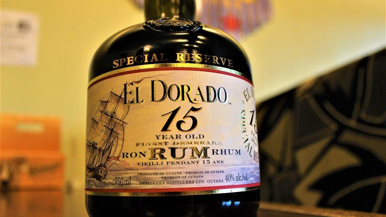 Image result for el dorado 15 rum image
