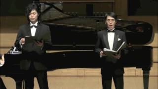 上原理生 & 酒井崇 バリトンリサイタル Chistmas Gift 2015】 at 上野学...