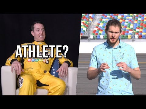 Are NASCAR Drivers Athletes? Caleb Pressley Sits Down With Kyle Busch To Find Out