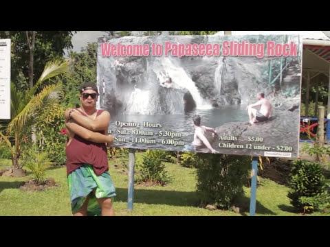 Samoa Travel Tips - To Sua & Sliding Rocks
