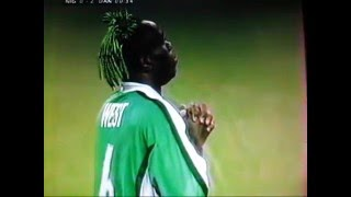 Taribo West glorious adventure at France 98 World Cup