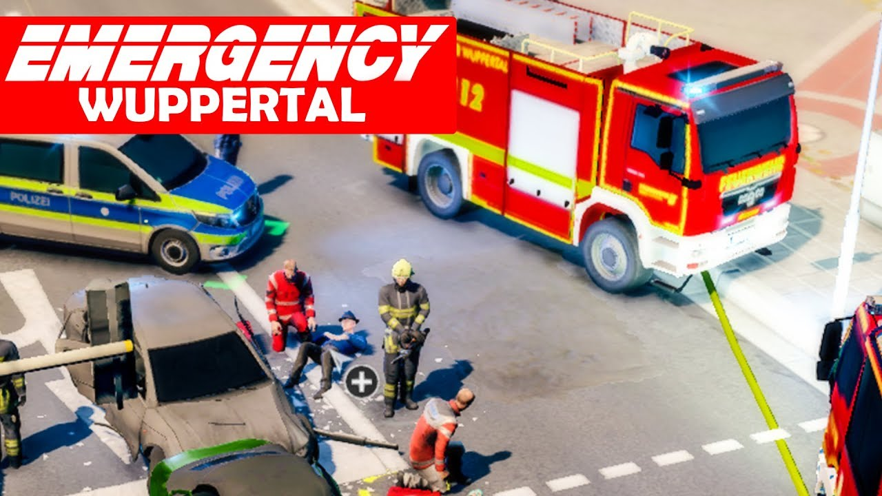 EMERGENCY Wuppertal #3: Verkehrsunfall im Multiplayer! | Rettungs ...
