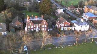 Drone footage of Burgess Hill on behalf of Smith Taxis