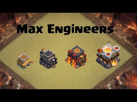 Clash Of Clans- Max Engineer Bases
