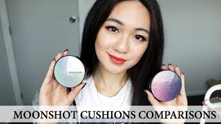Moonshot Micro Correct Fit Cushion VS. Moonshot Micro Setting Fit Cushion | COMPARISONS & REVIEW