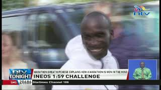 INEOS 1:59 Challenge: Kipchoge explains how a marathon is won in the mid
