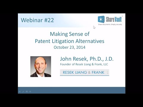Making Sense of New Patent Litigation Alternatives