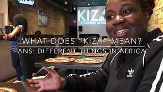 Kiza Toronto Authentic African Restaurant 多倫多KIZA非洲餐廳