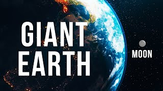 What If Earth Suddenly Grew 100 Times Bigger