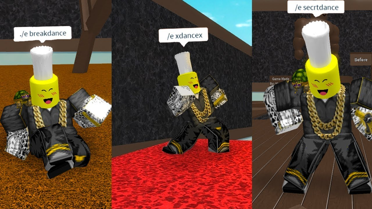 NEW DANCE ANIMATIONS! (Roblox)