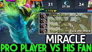 Miracle- [Morphling] Pro Player VS His Fan No Mercy Battle Cup 7.21 Dota 2