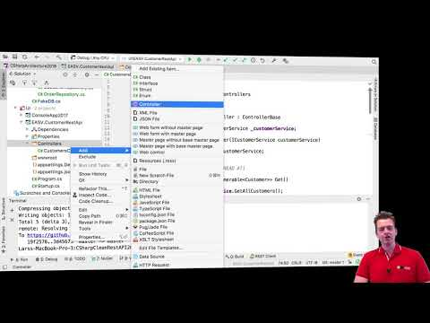 C# CLEAN REST API and more with NET Core 2018 | S3P25 | Order Architecture  Added