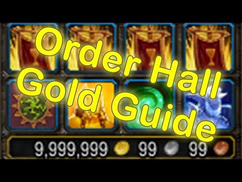 WoW Legion Order Hall Easy Gold Making 7.3.5 | WoW Order Hall Guide (World of Warcraft Gold Guide)