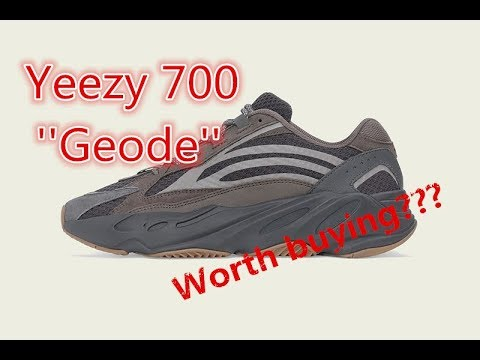2e81db21008811 Adidas Yeezy Boost 700 V2 Geode First Look - YouTube