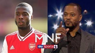 Patrice Evra reveals how Nicolas Pepe can kick-start his Arsenal career | MNF