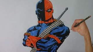 How to Draw Deathstroke - DC Comic