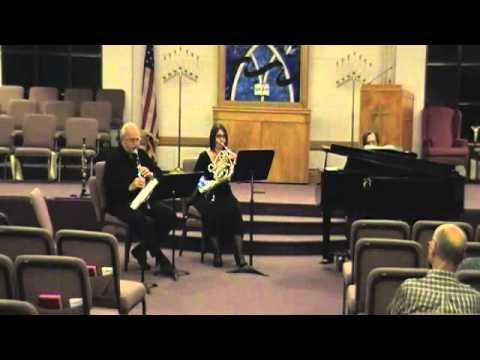 Alec Wilder - Suite for clarinet, horn and piano