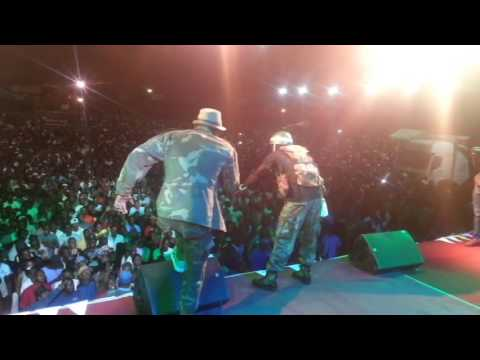 DHADZA D LIVE  @ BUSY SIGNAL   IN ZIMBABWE SHOW GLAMIS ARENA