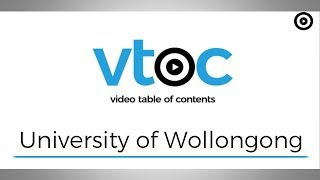 University of Wollongong share their experiences with VToC