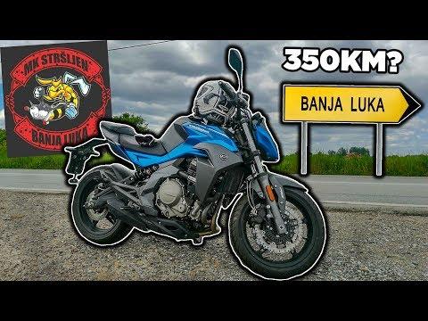 350KM OD BEOGRADA DO BANJA LUKE NA CFMOTO 650NK - Youtube Video