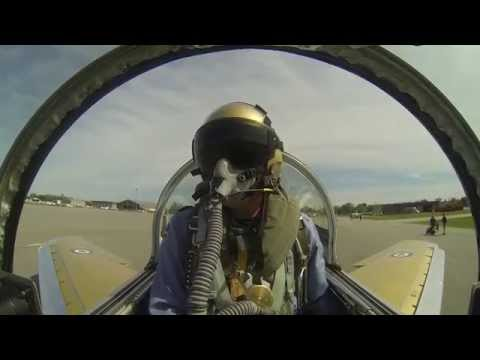 F- 86 Sabre First flight-Vintage Wings of Canada