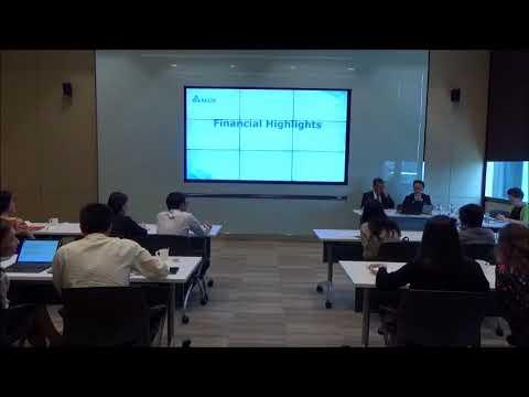 Delta Electronics (Thailand) PCL . Q1'18  Press Announcement