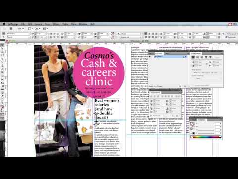 Creating a Double page spread in InDesign