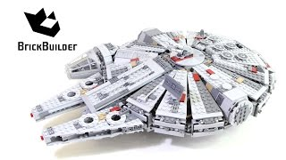 Lego Star Wars 75105 Millennium Falcon - Lego Speed Build