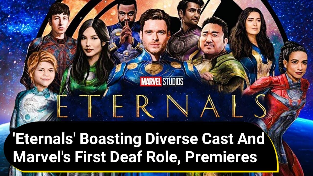 'Eternals' movie, boasting a diverse cast and Marvel's first deaf role ...