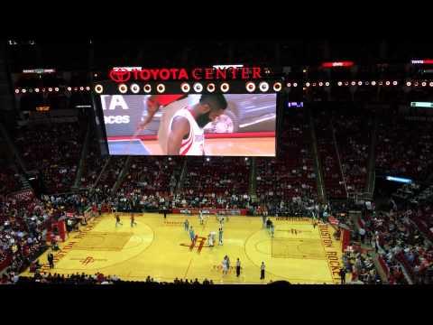 Denver Nuggets @ Houston Rockets / April 6, 2014 / Toyota Center, Section 409