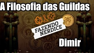 Filosofia das Guildas - Azul e Preto