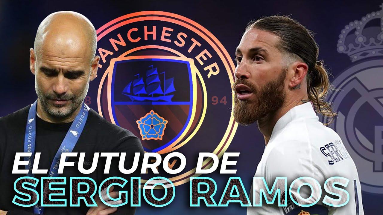 El futuro de SERGIO RAMOS: renovación estancada, GUARDIOLA ataca y las opciones del REAL MADRID